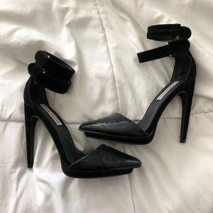 Steve Madden ankle strap heels